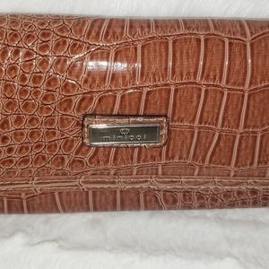 Minicci Faux Alligator Wallet ~ NWOT